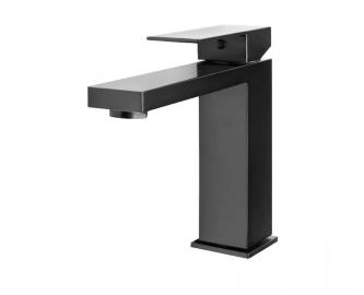 Однорычажный смеситель для раковины Ahti черный HA201001