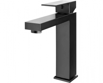 Однорычажный смеситель для раковины Ahti черный HA201101