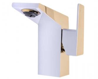 Однорычажный смеситель для раковины AHTI под золото HE201001